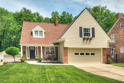Rocky River Single Family Home For Sale: 685 Morewood Pky
