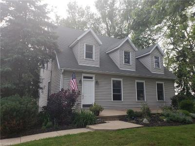 Copley Single Family Home For Sale: 2210 South Hametown Rd