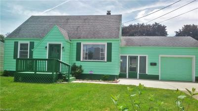 Struthers Single Family Home For Sale: 210 Harvey St