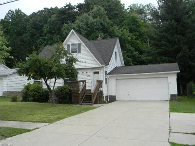 Garfield Heights Single Family Home For Sale: 6029 Andover Blvd