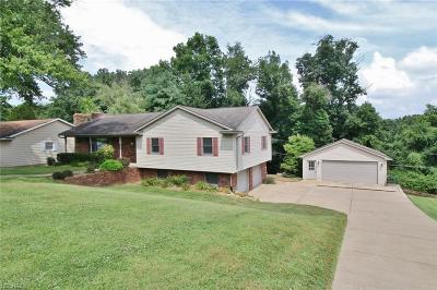 Muskingum County, Perry County, Guernsey County, Morgan County Single Family Home For Sale: 2840 East Military Rd
