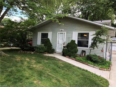 North Ridgeville Single Family Home For Sale: 6242 Rosebelle Ave