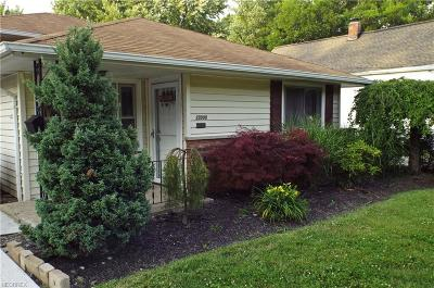 North Olmsted Single Family Home For Sale: 23008 Macbeth Ave