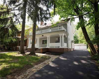 Cleveland Heights Single Family Home For Sale: 3352 Euclid Heights Blvd