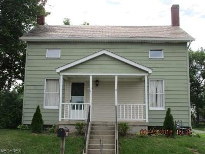 Single Family Home For Sale: 13654 S Main Street