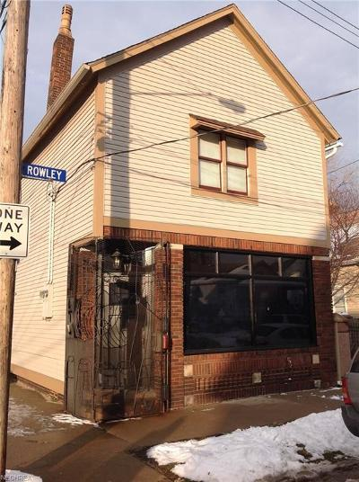 Cleveland Multi Family Home For Sale: 1154 Rowley Ave