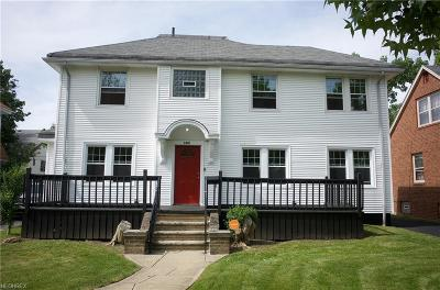 Cleveland Heights Single Family Home For Sale: 3301 Berkeley Rd