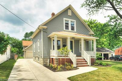 Rocky River Single Family Home For Sale: 2812 Northview Rd