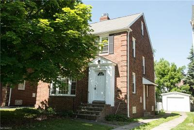 Cleveland Heights Single Family Home For Sale: 1148 Pennfield Rd