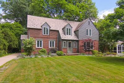 Shaker Heights Single Family Home For Sale: 2547 Warwick Rd