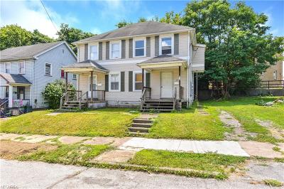 Youngstown Multi Family Home For Sale: 345 Bessemer St