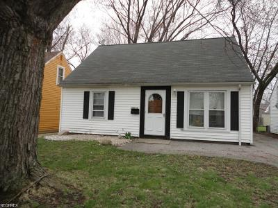 Single Family Home For Sale: 18614 Homeway Rd
