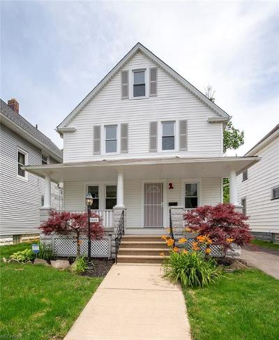 Cuyahoga County Single Family Home For Sale: 1303 West 115th St