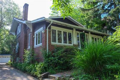 Cleveland Heights Single Family Home For Sale: 1643 Rydalmount Rd