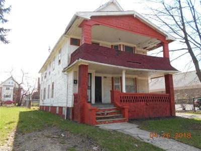 Cleveland Multi Family Home For Sale: 3471 East 114th St