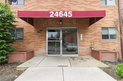 North Olmsted Condo/Townhouse For Sale: 24645 Clareshire Dr #202