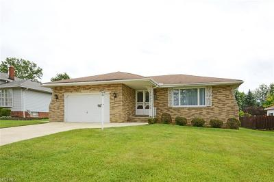 Parma Single Family Home For Sale: 1461 Sheridan Dr
