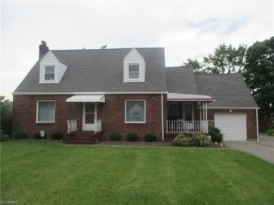 Struthers Single Family Home For Sale: 645 Como St