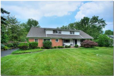 Beachwood Single Family Home For Sale: 26023 North Woodland Rd