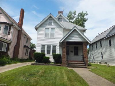 Cleveland Single Family Home For Sale: 3410 Mapledale Ave