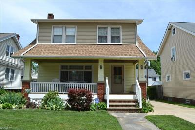 Cleveland Single Family Home For Sale: 1736 Saratoga Ave