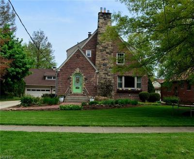 Cuyahoga County Single Family Home For Sale: 21684 North Park Dr
