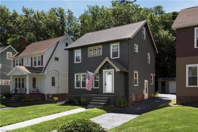 Cleveland Heights Single Family Home For Sale: 3936 Orchard Rd
