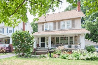 Lakewood Single Family Home For Sale: 2160 Overbrook Ave