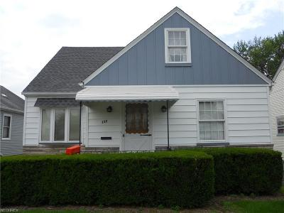 Youngstown Single Family Home For Sale: 152 North Osborn Ave