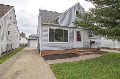 Willowick Single Family Home For Sale: 30342 Powell Rd