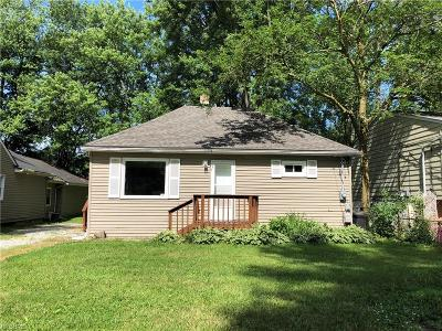 North Ridgeville Single Family Home For Sale: 5492 Pleasant St