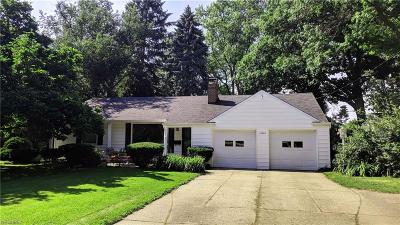 Fairview Park Single Family Home For Sale: 22840 Mastick Rd