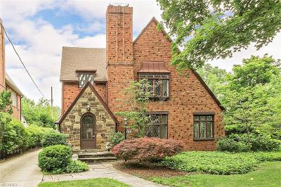 Shaker Heights Single Family Home For Sale: 3256 Stockholm Rd