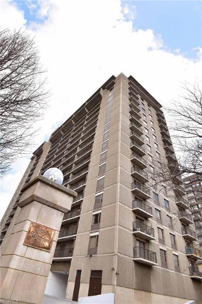Bay Village, Cleveland, Lakewood, Rocky River, Avon Lake Condo/Townhouse For Sale: 12500 Edgewater Dr #1202