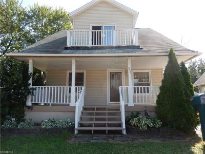 Willowick Single Family Home For Sale: 250 East 315th St