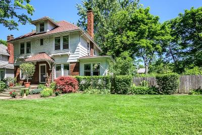 Cleveland Heights Single Family Home For Sale: 3387 Bradford Rd