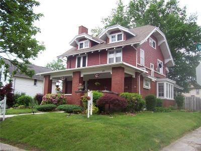 Ashland County Single Family Home For Sale: 337 West Walnut St