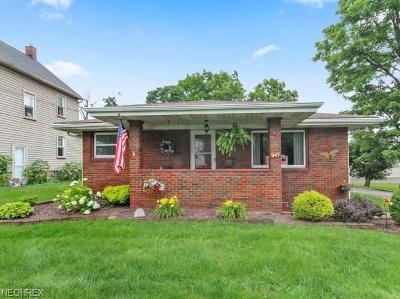 Struthers Single Family Home For Sale: 347 Maplewood Ave