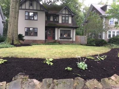 Cleveland Heights Single Family Home For Sale: 2828 Edgehill Rd