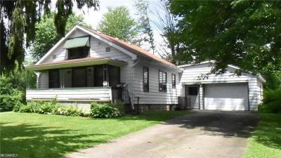 Hubbard Single Family Home For Sale: 3627 Overlook