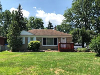 Avon OH Single Family Home Sold: $139,000