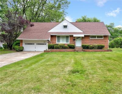 Richmond Heights Single Family Home For Sale: 1831 Sunset Dr