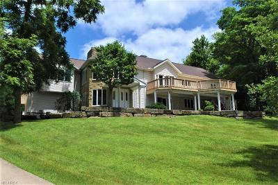 Geauga County Single Family Home For Sale: 10020 Sherman Road