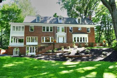 Cleveland Heights Single Family Home For Sale: 2565 Stratford Rd