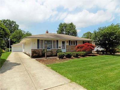 Rocky River Single Family Home For Sale: 3976 River Ln