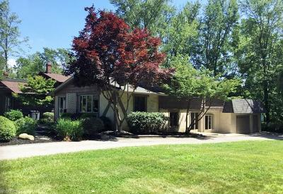 Mentor-On-The-Lake Single Family Home For Sale: 5454 Coronada Dr