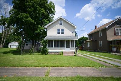 Struthers Single Family Home For Sale: 26 Katherine St