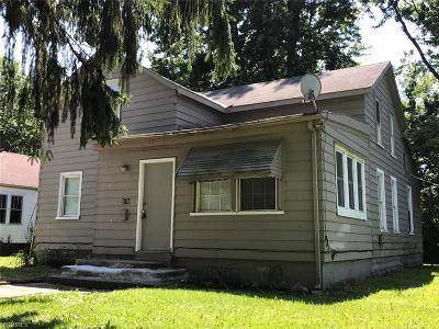 Painesville OH Single Family Home For Sale: $59,999