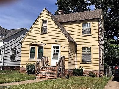 Cleveland OH Single Family Home For Sale: $120,000