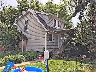 Cleveland OH Single Family Home For Sale: $39,055
